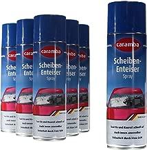 6x Caramba Scheiben Enteiser Scheibenenteiser Spray Sprühdose 500ml (5,78Euro/l)