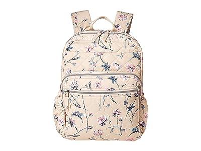 Vera Bradley Performance Twill XL Campus Backpack (Strawflowers) Backpack Bags