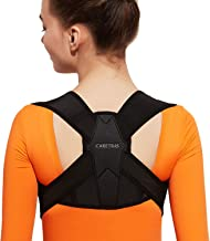 Posture Corrector for Women and Men, Caretras Adjustable Upper Back Brace for Clavicle Support and Providing Pain Relief f...