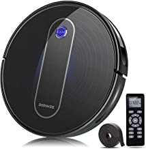 Robot Vacuum, Deenkee Robotic Vacuum Cleaner with Upgraded 2000Pa Strong Suction, Self-Charging, Daily Schedule,Slim and Q...