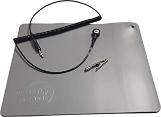 Earthing/Grounding Car Pad with Cable and Alligator Clip Connection. Stay Alert & Refreshed While Driving with This Easy to Install Anti-Static, Grounding Car Pad Suitable for Drivers & Passengers