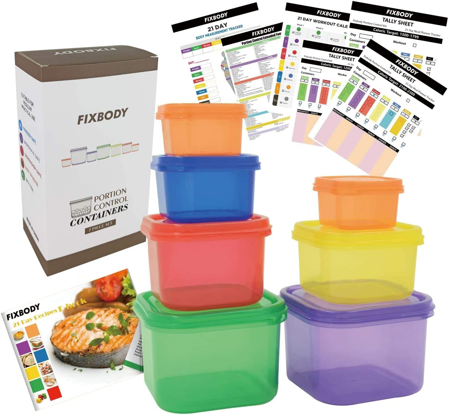 which diet uses color coded containers