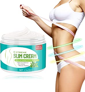 Hot Cream,Anti Cellulite Cream for Belly, Legs, Arms, Thigh and Waist, Quick Slimming and Fat Burning,1.7oz