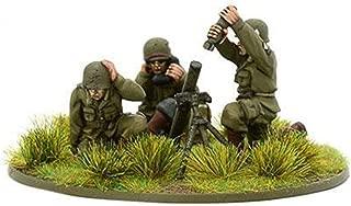 Bolt Action Us Airborne Medium Mortar Team (1944-45) Blister - Metal