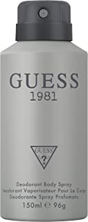 Guess Guess 1981 By Guess for Men - 5 Oz Deodorant Body Spray, 5 Oz