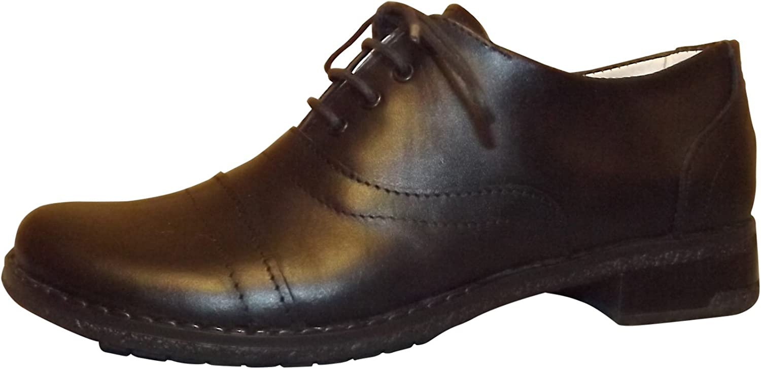 Rocomfort 100% Genuine Leather Women Casual shoes Black