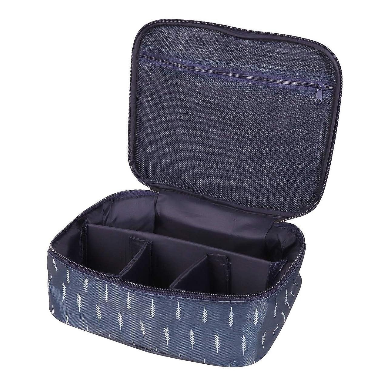 市区町村用量封筒[CAWKAY] メイクボックス 旅行用化粧ケース コスメ バッグ ボックス トラベル化粧ポーチ メイクブラシ 小物入れ 収納
