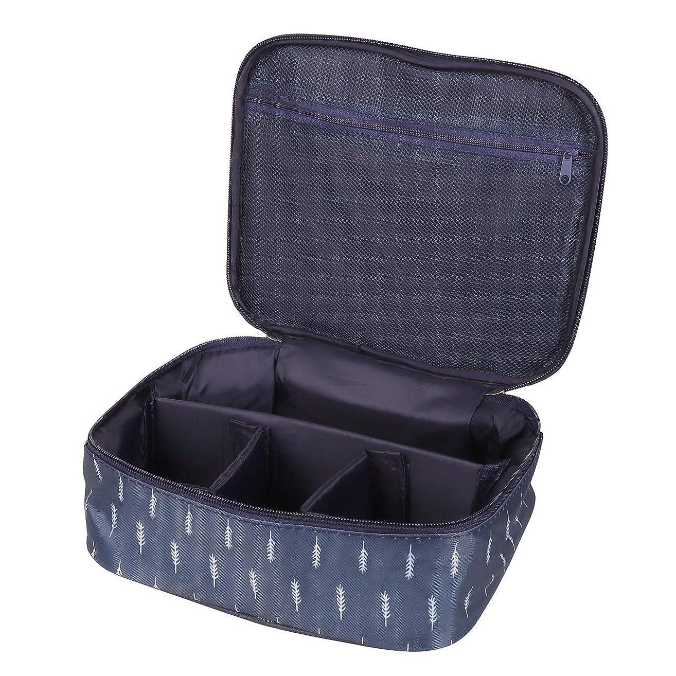 推定甘味フルート[CAWKAY] メイクボックス 旅行用化粧ケース コスメ バッグ ボックス トラベル化粧ポーチ メイクブラシ 小物入れ 収納