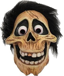 Miguel Mask Halloween Skull Hector Latex Full Head Helmet Fancy Dress Props Brown