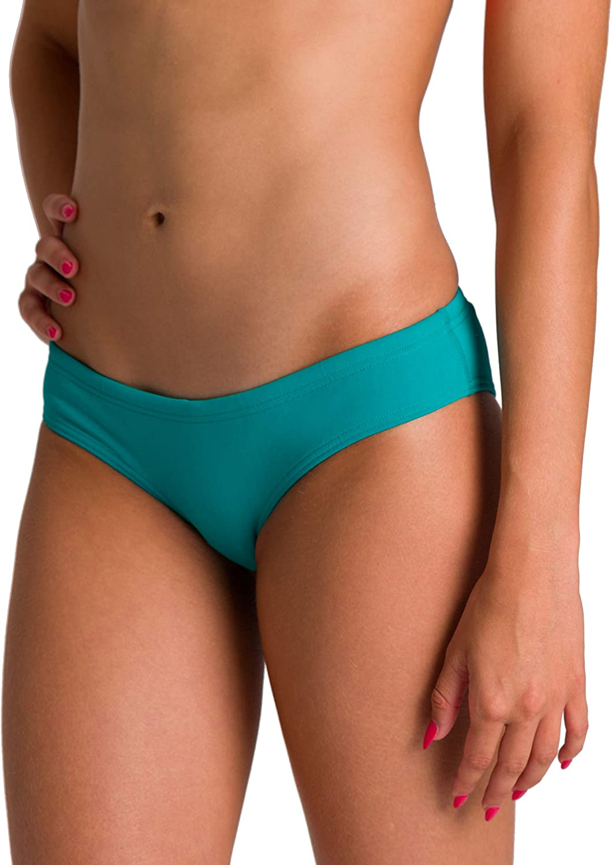 Arena Women's Standard Rulebreaker Unique Brief Bikini Bottoms Athletic Sport Swimsuit