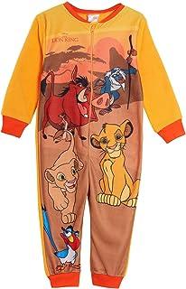 Disney The Lion King Combinaison en polaire pour enfant Motif Simba