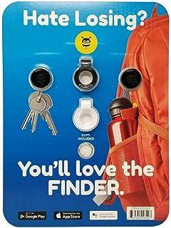 Pebblebee Tracker Item & Phone Finder Pack, Rose Gold and Black Gunmetal, Normal photo