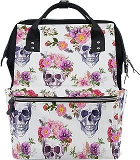 sugar skull diaper bag