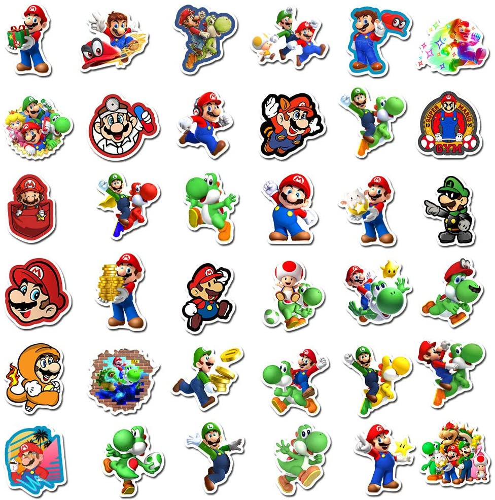 Vinyl Waterproof Stickers for Laptop Water Bottle 100PCS Among Us Stickers Popular Game Sticker Decals