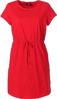 ellos Women's Plus Size Knit Drawstring Dress