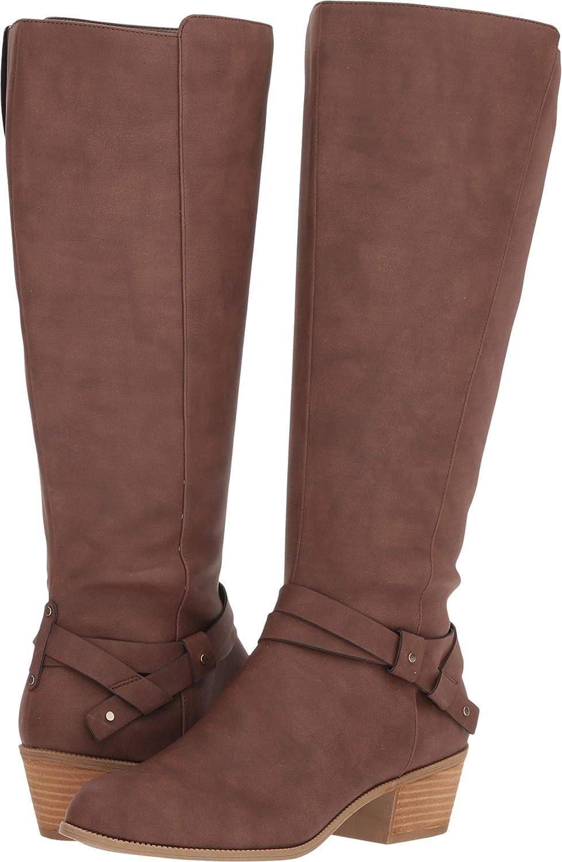 Dr. Scholl's shoes Womens Baker Wide Calf Knee High Boot
