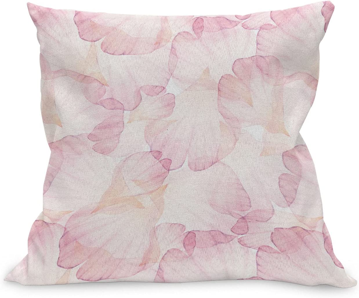 Ambesonne Pastel Throw low-pricing Pillow Cushion Pet Pink Flower Soft Max 74% OFF Case