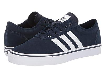 adidas Skateboarding Adi-Ease (Collegiate Navy/Ftwr White Gum4) Skate Shoes