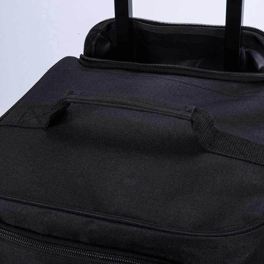 Flymax 28 Large Rolling Lightweight Wheeled Suitcase Travel Duffle Holdall Bag on Wheels Luggage