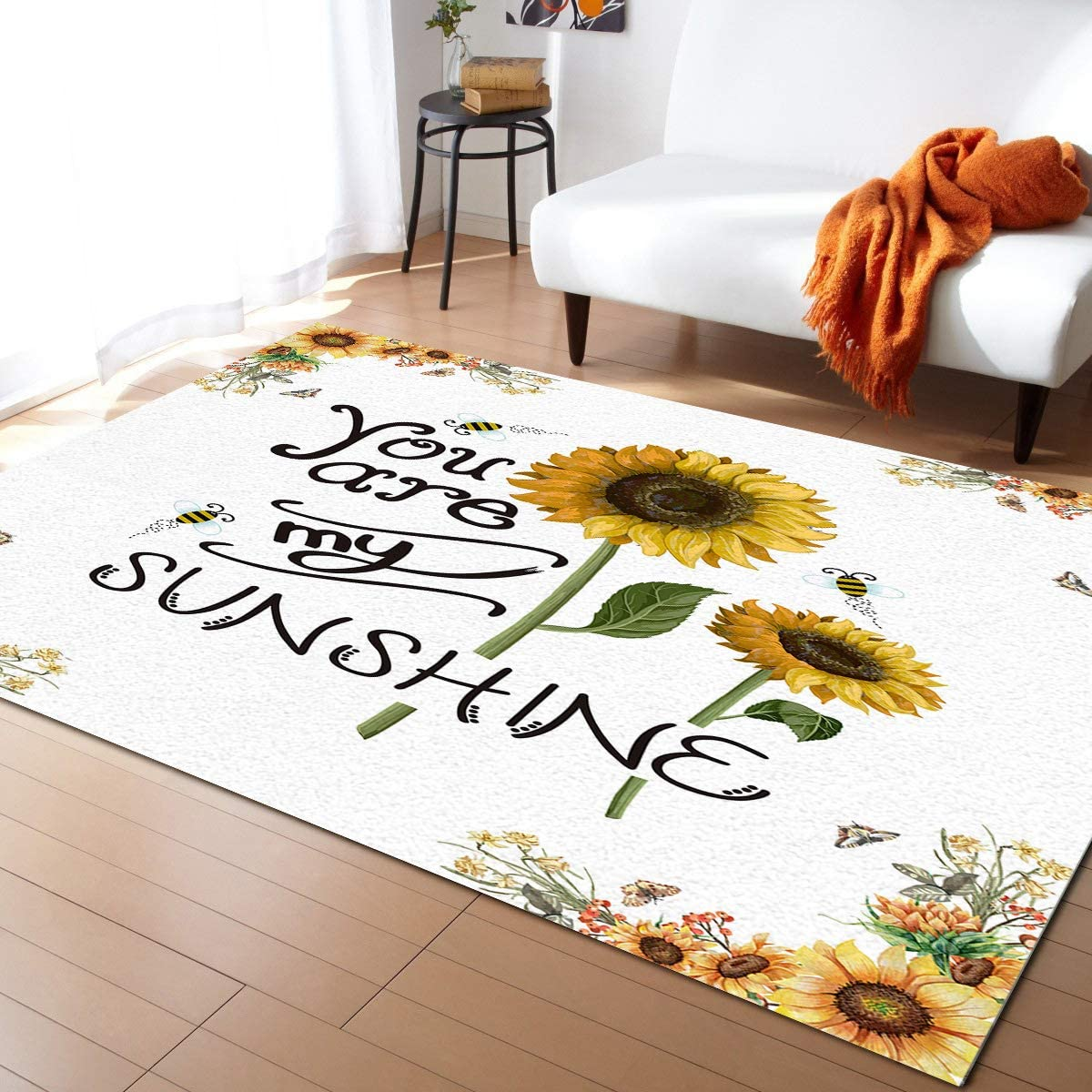 OUR DREAMS Sunflower You are My Farm Spring new work Country Popular products Rectangle Sunshine
