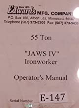 Best edwards 55 ton ironworker manual Reviews