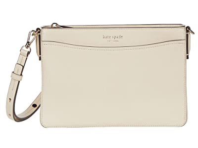 Kate Spade New York Margaux Medium Convertible Crossbody (Bare) Handbags