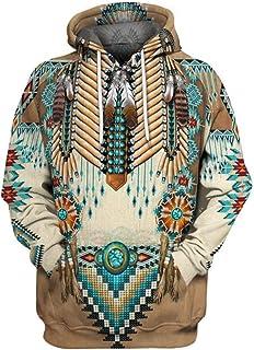 Sudadera con Capucha Hombre con Bolsillo Estampado Deporte Outwear Hoodie Unisex Sweatshirt Pullover