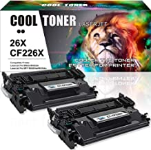 Cool Toner Compatible Toner Cartridge Replacement for HP 26X CF226X 26A CF226A for HP Laserjet Pro M402n m402dn M402dw M402dne, Laserjet Pro MFP M426fdw M426dw M426fdn Printer 9000 High Yield Ink-2PK