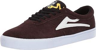 Lakai Footwear Sheffield Simon Chocolate Suedesize Tennis Shoe, Chocolate Suede