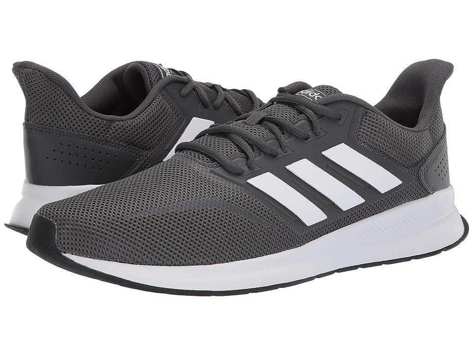adidas Falcon (Grey Six/Footwear White/Core Black) Men