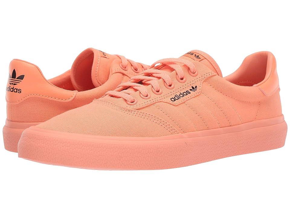 Image of adidas Skateboarding 3MC (Chalk Coral S18/Core Black/Chalk Coral S18) Men's Skate Shoes