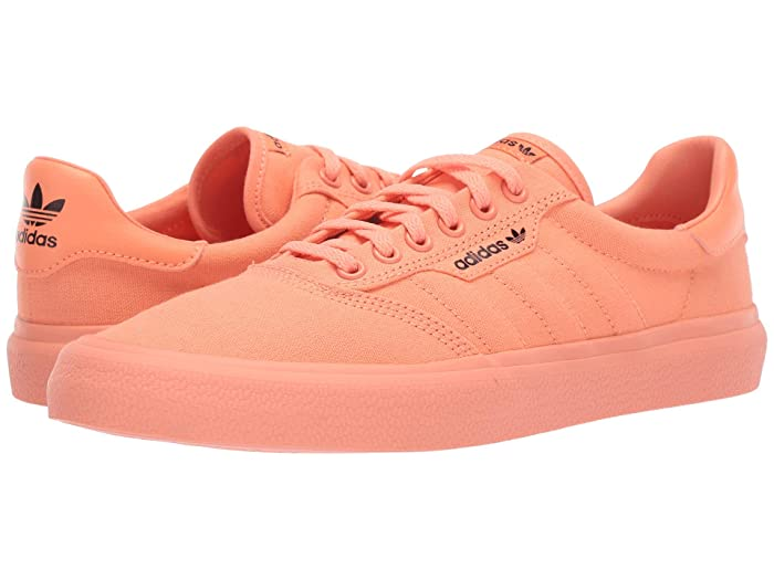 adidas Skateboarding  3MC (Chalk Coral S18/Core Black/Chalk Coral S18) Mens Skate Shoes