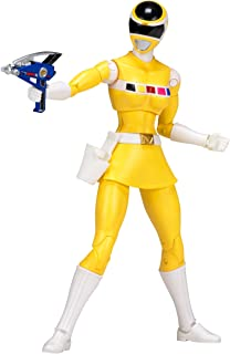 Power Rangers In Space 6.5-Inch Yellow Ranger Legacy Figure