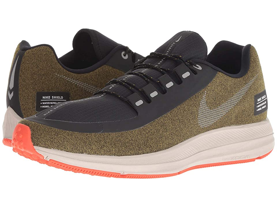 Nike Air Zoom WInflo 5 Run Shield (Olive Flak/Metallic Silver/String) Men