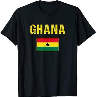 Ghana T-shirt Ghanaian Flag Shirts For Men/Women/Youth/Kids
