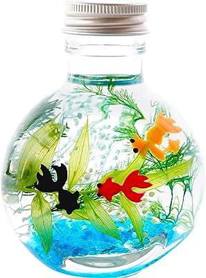 花まりか ハーバリウム 金魚 ハーバリウム Sサイズ 花 誕生日 プレゼント (A.コロン)