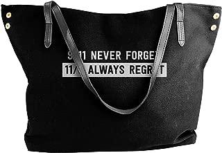 911 Never Forget. 119 Always Regret Women Shoulder Bag,shoulder Bag For Women