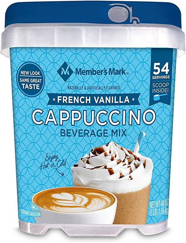 Daily Chef French Vanilla Cappuccino Beverage Mix 48 Oz