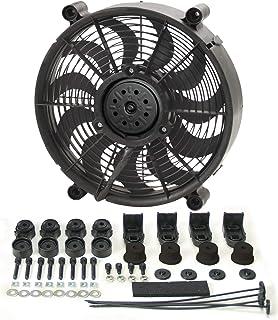 Derale 16212 12' High Output Radiator Fan , Black