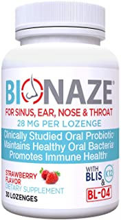 Bionaze Oral Sinus Probiotic w/BLIS K12 & BL-04 Contains The Latest clinically Proven strains That Prevent Illness and Imp...