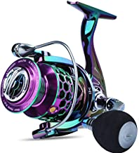 Sougayilang Colorful Fishing Reel 13 +1 BB Light Weight Ultra Smooth Powerful Spinning Reels,...