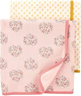 Carter's 2-Pack Floral Baby Blankets