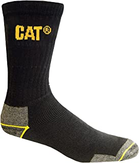 Caterpilar - Calcetines gruesos para trabajar hombre/caballero - 3 pares de calcetines