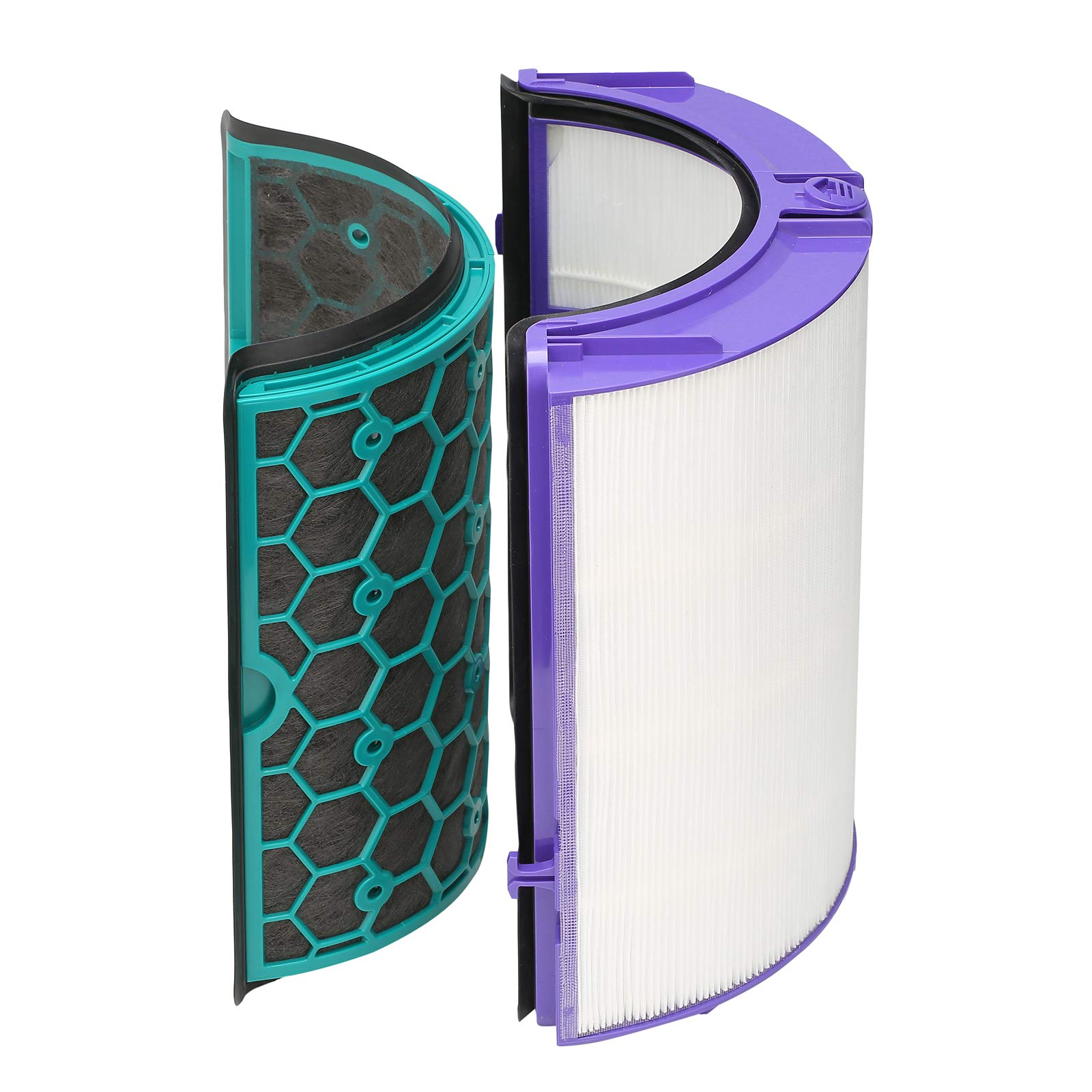 Dyson DP04 HP04 TP04 Pure CoolTM Filtro HEPA de Vidrio purificador y Filtro Interior de carbón Activado: Amazon.es: Hogar