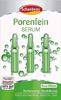 Schaebens poriënfijn serum, verpakking van 3 (3 x 3 toepassingen per 1 ml)