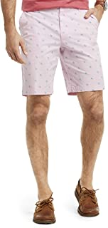 """IZOD Men's Big and Tall Saltwater 9.5"""" Stretch Printed Short"""