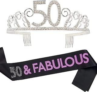 Best birthday sash 50 Reviews