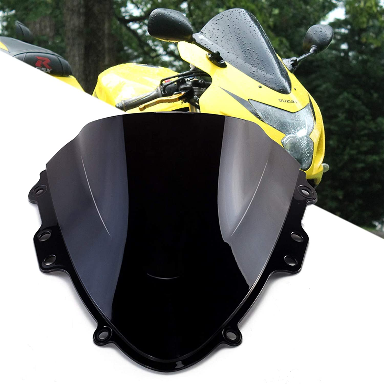 LQIAN Motorcycle Windscreen Spoiler Super beauty product restock quality top Los Angeles Mall WindScreen Double Windshield