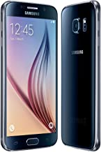 Samsung Galaxy S6 G920a 32GB Unlocked GSM 4G LTE Octa-Core Android Smartphone w/ 16MP Camera (Renewed) (Black Sapphire)