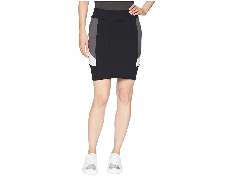PUMA Retro Tight Skirt (Black) Women